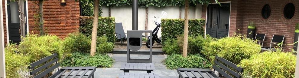 Onwijs Familie tuin met weinig onderhoud - Projecten   Rieter Tuinontwerp VX-72