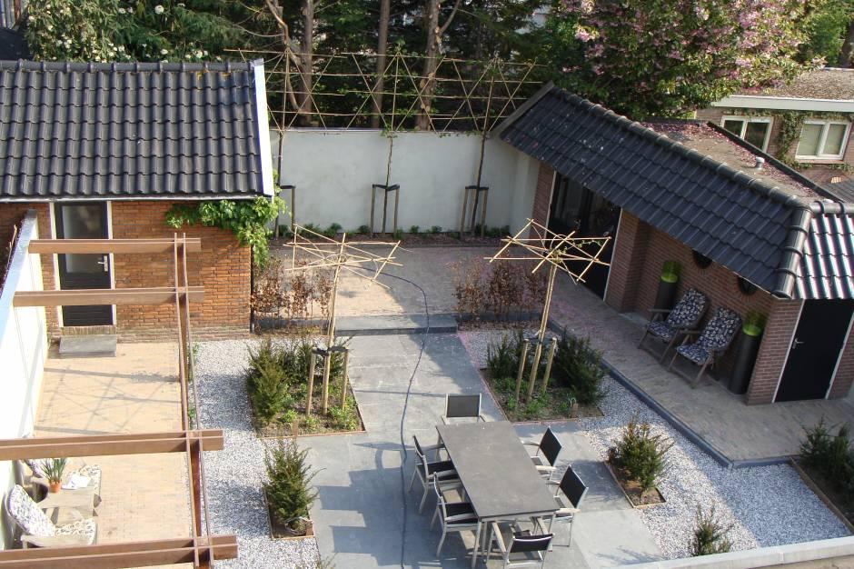 Super Familie tuin met weinig onderhoud - Projecten   Rieter Tuinontwerp WV-51